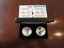 TWO Canada 2015 $20 Superman Silver coins with COAs