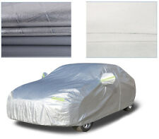 Aluminum Full Car Cover Waterproof Rain UV Resistant Protection for Audi A4 A5
