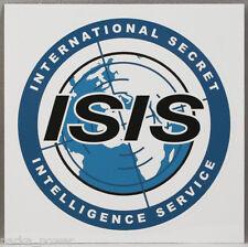 ISIS International Secret Intelligence Service Sticker, Spy agency, Archer, TV