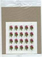 SEALED Contemporary Boutonniere. Sheet of 20 Forever Stamps. USPS 2020. Wedding