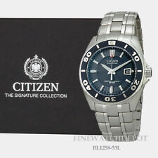 Authentic Citizen Eco-Drive Men's Perpetual Calendar Watch BL1258-53L