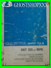 CAGIVA catalogo parti di ricambio SST 125 dal 1978