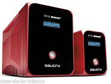SAI UPS Linea Interactiva Salicru SPS-1000+ SOHO AVR 1000VA 600W Shukko USB LCD