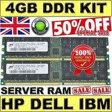 Server RAM 4GB 2x 2GB kit PC2700R FOR HP 331563-051 ECC Registered DDR 333MHz