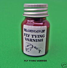 FLY TYING VARNISH LUREFLASH WHITE VARNISH FLY TYING MATERIALS (WHT)