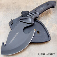 """10"""" FULL TANG Survival Hunting Fixed Blade Tactical Axe Hatchet Camping Knife"""