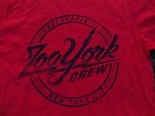 ZOO YORK red short sleeve skater t shirt Zoo York Unbreakable T shirt  L NWOT