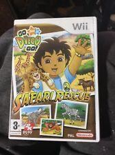 Wii Diego Go Safari Rescue
