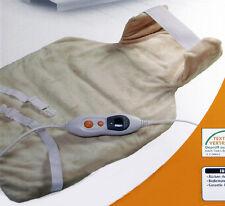 Quigg Rücken Nackenheizkissen Heizkissen Wärmekissen Rückenheizkissen 54x38 cm