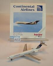 HERPA wings 1/500 Nº 503051 Boeing 727 - 200 Continental Airlines OVP #1337