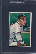 1951 Bowman #278 Norman Roy Braves EX 51B278-41916-1