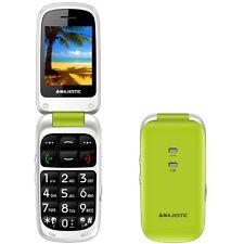 telefono cellulare per anziani Majestic sileno 41 conchiglia tasti  e VERDE
