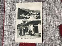 CARTOLINA RUÀ DI PRAGELATO COSTUME VIAGGIATA 1916 66