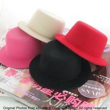NEW cute plain DIY Fascinator Lady mini Hen party top hat Wholesale Lots 40pcs