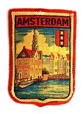 Toppa Patch Amsterdam Olanda cm 5,7 x 8,5
