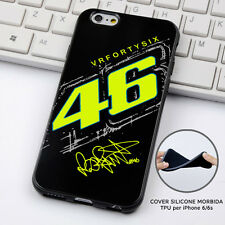 CUSTODIA COVER SILICONE PER iPHONE 6 7 8 PLUS TIFO VALENTINO ROSSI VR46 11