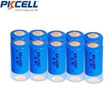10x PKCELL 1/2AA ER14250 LS14250 ER14250H 3.6V 1200mAh Batteria