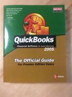 QuickBooks 2005 Official Guide Premier Edition (2004,Softback) PreOwnedBook.com