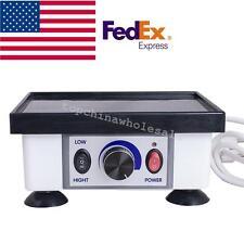 Us Portable Dental Lab Small Square Vibrator Model Oscillator Equipment 120w 2kg