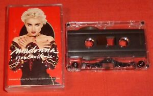 MADONNA - UK CASSETTE TAPE - YOU CAN DANCE (INCL 4 DUB VERSIONS NOT ON LP)