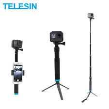 Telesin Aluminum Alloy Extendable Selfie Stick For GoPro Osmo Action Camera