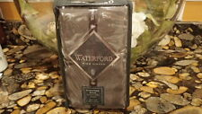 New Pewter Euro Pillow Sham Blossom By Waterford Beautiful Cute Pretty $50
