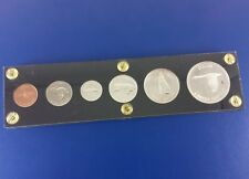 1967 Canada 100th  Uncirculated 6 Coin Set In Lucite Case
