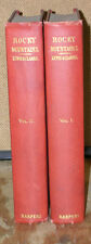 Rocky Mountains-The Lewis & Clarke Expedition in Two Volumes-1902 Edition