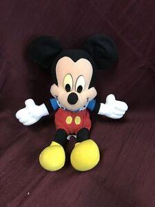 """Vintage Disney Mickey Mouse  Mattel Arco Toys 15"""" Plush Doll"""