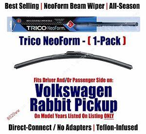 (Qty 1) Premium NeoForm Wiper fits 1980-1983 Volkswagen VW Rabbit Pickup 16160