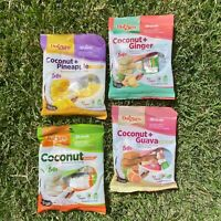 Puerto Rico Candy Mix Coconut Snack 4 PACK Pineapple Ginger Guava