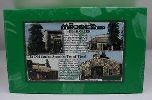 """Sierra West 104 HO Scale """"The Machine Shop"""" at Deer Creek Building Kit"""