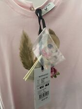 Monnalisa pink squirrel t shirt top aged 3 new with tags