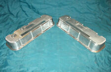 Polished Aluminum Mickey Thompson M/T BBC Chevy Valve Covers 396, 402, 427, 454