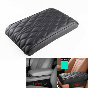 Universal PU Leather Racing Car Center Console Armrest Cushion Mat Pad Cover