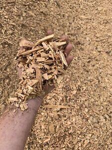 PURE SAWMILL WOODCHIP MULCH - PINE/CYPRESS - No Rubbish/weeds/seeds