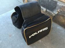 Vintage 1970s Canvas Polaris Saddle Bags
