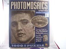 """ELVIS PRESLEY PHOTOMOSAICS 1026 PIECES PUZZLE """"MIB-FACTORY SEALED"""