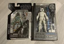 Star Wars Black Series Lot 2: Boba Fett Prototype And Archive Mandolorian