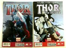 Marvel THOR GOD OF THUNDER #2 + #4 Key LOT MEXICAN VARIANT Spanish Ships FREE!