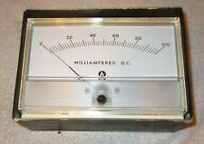 One Vintage Nos Knight Milliamperes Meter