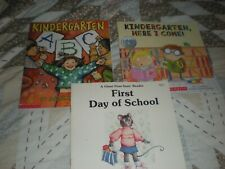 School, Kindergarten, Softcover Picture Books  Lot 3