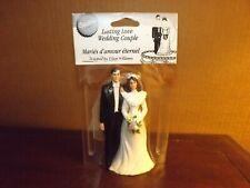 Vintage Wilton Lasting Love Wedding Couple Cake Topper in Original Packaging