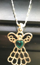 Avon MARY BIRTHSTONE ANGEL NECKLACE DECEMBER