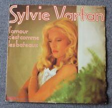 Sylvie Vartan, l'amour c'est comme les bateaux / la meilleure ..., SP - 45 tours