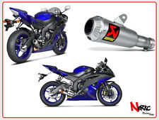 AKRAPOVIC EXHAUST AUSPUFFANLAGE TITAN SLIP-ON YAMAHA R6 2006/2016 S‐Y6SO10‐ AHBT