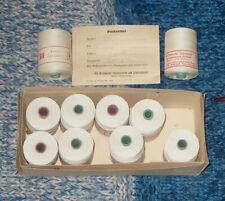 37,98€//kg Wolle Linen Lino 4,3 B45 500g CLASSIC REINES LEINEN MULTIBLAU
