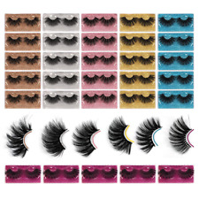 New listing Winifred 25Mm Lashes Wholesale Bulk 8D Faux Mink Pack 30 Pairs 6 Black