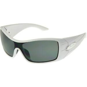 Panama Jack Wrap Around Sunglasses PJX 100 White Color Mirror Lenses  NEW!