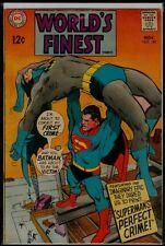 "DC Comics WORLD""S FINEST #180 Superman Batman VG+ 4.5"